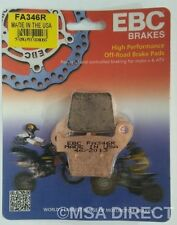 "Honda CRF450 (2002 to 2016) EBC ""R"" Sintered REAR Brake Pads (FA346R) (1 Set)"