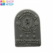 MANCHESTER UNITED FC EUROPEAN PIN BADGE BUTTON OFFICIAL FOOTBALL SOCCER CLUB NEW
