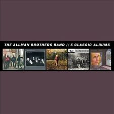 ALLMAN BROTHERS**5 CLASSIC ALBUMS**5 CD SET