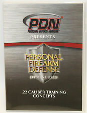 Personal Defense Network .22 Caliber Training Concepts PDN DVD C603D 11 Chapters