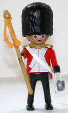 ROYAL GUARD MAJOR Playmobil zu Rotröcke Soldat 5581 4577 Garde Top Custom 1408