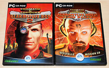 COMMAND & CONQUER - ALARMSTUFE ROT 2 - INKL MISSION CD YURIS RACHE - PC CD ROM