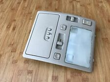 LEXUS GS300 OEM FRONT TOP ROOF DOME LIGHT SUNROOF SWITCH PANEL