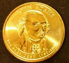 John Adams 2007  P or D  US PRESIDENTIAL 1 DOLLAR UNC COMM  COIN