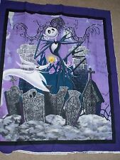 Nightmare before Christmas Jack Skeleton  Handmade  Blanket Disney
