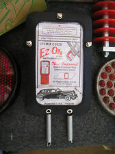 NEW VINTAGE STYLE STEERING COLUMN AUTO CERTIFICATE / REGISTRATION HOLDER #