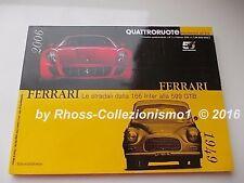 FERRARI Collection Le stradali_1949-2006_dalla 166 inter alla 599 GTB_Testarossa