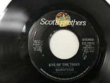 Survivor Eye of the Tiger/Take you on a Saturday 45 RPM Record ZS5 02912