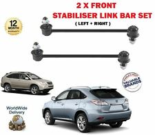 FOR LEXUS RX300 RX350 RX400 RX450H HYBRID 2003--  2 X FRONT STABILISER LINK BARS