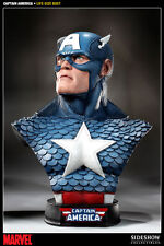 Sideshow - Marvel Collectibles - Captain America Life-Size Bust (In Stock)