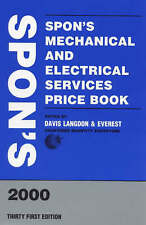 Spon's Mechanical and Electrical Services Price Book 2000 (Spon's Price Books)