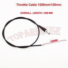 Dirt Bike Throttle Cable Fit  Mini Baja Warrior MB165 MB2005 505HP 6.5HP 196cc