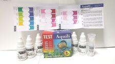 Test 5 in 1 per Acquario dolce e marino AQUILI Acqua misura ph kh gh no2 no3