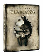 Gladiator Limited Ed. Steelbook / Theatrical and Extended Cut / Blu Ray / Import