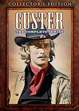 Custer . The Complete Series . Wayne Maunder . Western . 4 DVD . NEU . OVP