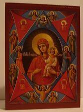 Gottesmutter unverbrennbarer Dornbusch Ikone Icon Icona Icone Icono икона