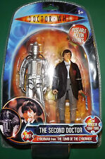 Dr Who 2nd Doctor Tomb of the Cybermen BRAND NEW figure set Patrick Troughton