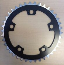 39T BCD:110 Chainring Chain Ring BMX Track Fixie Road Single Speed Bike black