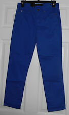 Calvin Klein Spendor (Blue) Power Stretch Skinny Crop Jeans Size 4 NWT