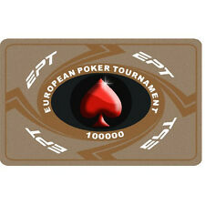 Fiches Ceramica EPT European Poker Tour Valore 100000