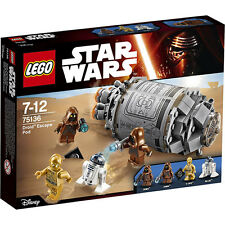 LEGO Star Wars - 75136 Droid™ Escape Pod mit R2-D2 & C-3PO - Neu & OVP