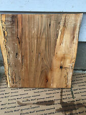 Severe Spalted   Natural edge maple slab