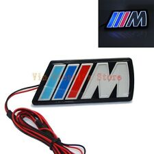 BMW ///M LED Light Luminous Emblem Front Grille Badge For M3 M4 M5 X1 X3 X5 X6