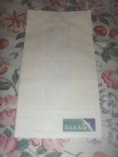 Brand New 2 Singapore SilkAir airlines sick bags vomit bags barf bags
