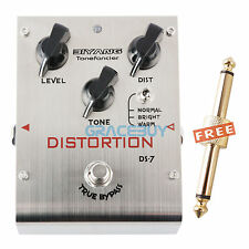 Biyang Tonefancier DS-7 Guitar Effect Pedal Bright / Warm Distortion True Bypass