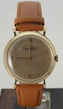 Awesome 1950's IWC International Schaffhausen 18K Lg 36mm Men's Watch Caliber 89