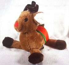 """1984 Dakin RUDOLPH THE RED NOSED REINDEER Plush 11"""""""