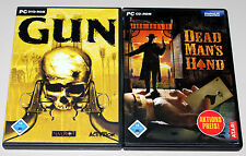 2 PC Giochi Bundle Western Shooter-Dead Mans Hand & Gun