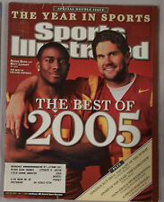 2006 SPORTS ILLUSTRATED REGGIE BUSH & MATT LEINART USC  YEAR IN SPORTS