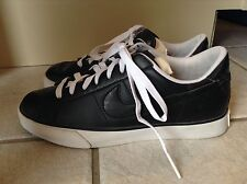 "NIKE ""Sweet Classic"" Women's Black Leather Sneakers Size 8"