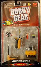 16059 taller de accesorios, gato, bombonas de gas, mecánico 2, 1:24, hobby Gear