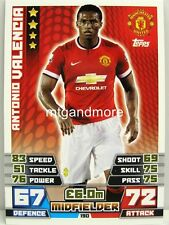 Match Attax 2014/15 Premier League - #190 Antonio Valencia - Arsenal