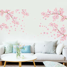 New Mural Art Blossom Flowers PVC Removable Wall Stickers Decal Decor DIY