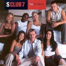 Two in a Million [Single] by S Club SEALED CD, Mar-2000