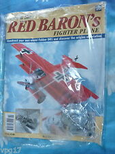 BUILD THE RED BARON'S FIGHTER PLANE FOKKER DR1  HACHETTE  ISSUE 10  NEW SEALED