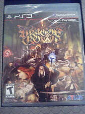 Dragon's Crown -Sony Playstation 3 New- USA version