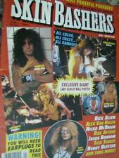 RIP Skin Bashers 1990 Magazine -Ultimate Drummer Guide- Lars Ulrich Poster