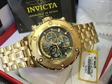 14470 Invicta Reserve 52mm Specialty Subaqua Swiss Chrono 18KT GP Bracelet Watch