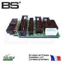 JLink V8 JTAG adapter adaptateur 2.54 2.0 2440 6410 STM32 M4 M3 Cortex Jlink V8