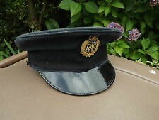 Original Royal Air Force Airman's Service Cap & Badge. RAF