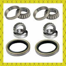 FRONT WHEEL BEARING & SEAL FOR TOYOTA T100 2WD RWD 1993-1998 LEFT & RIGHT PAIR