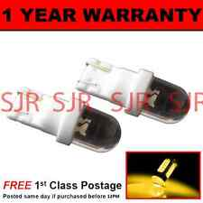 W5W T10 501 XENON AMBER DOME LED SIDE REPEATER INDICATOR BULBS X2 HID SR100101