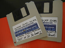 "YAMAHA SY-77 SY99 Lot 2 Floppy Disk 720 Ko 1000 Sounds Library */* ""Best of DX"""