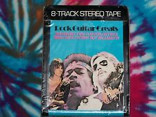 VARIOUS Rock Guitar Greats SPRINGBOARD SEALED 8-Track HENDRIX CLAPTON BECK PAGE