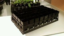 3 Plant trays filled with 120 tubes (40mm x 80mm) seedling propagation (3 sets)