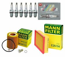 NEW BMW E39 E46 E83 E85 High Quality Tune Up KIT Filters With 6-Spark Plugs